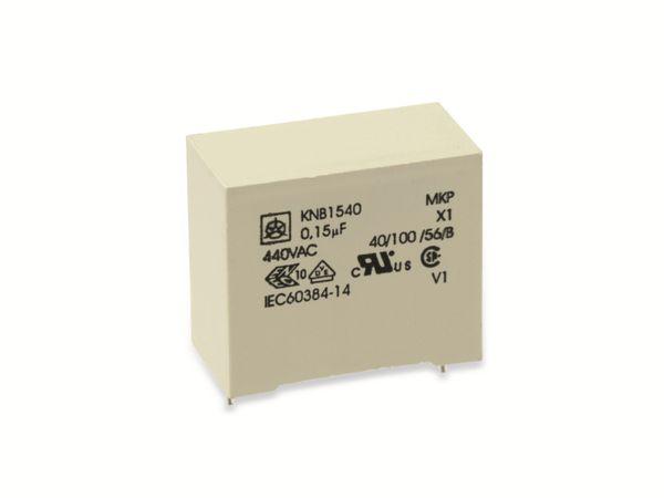 Funkentstörkondensator ISKRA KNB1540, 150 nF, 440 V~