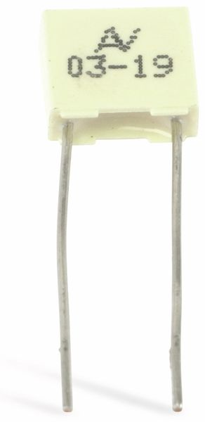 Folienkondensator KEMET R82, 120 nF