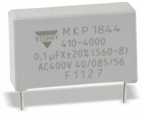AC Folienkondensator VISHAY MKP1844, 100 nF, radial