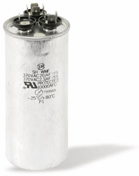 Motorbetriebs-/Anlaufkondensator, 2,3/20 µF/370 V~ - Produktbild 1