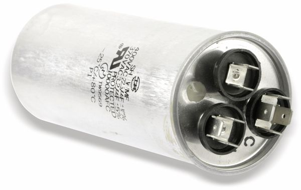 Motorbetriebs-/Anlaufkondensator, 3,2/22,5 µF/370 V~ - Produktbild 2