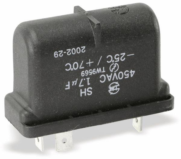 Motorbetriebskondensator SH, 1,7 µF/450 V~ - Produktbild 2