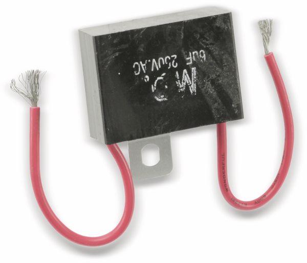 Motorbetriebskondensator, 6 µF/250 V~