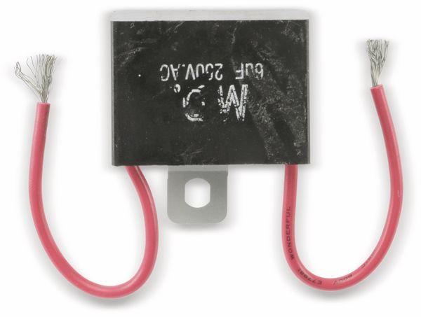 Motorbetriebskondensator, 6 µF/250 V~ - Produktbild 2