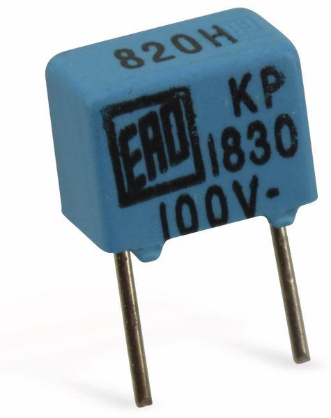 Folienkondensator VISHAY-ROEDERSTEIN KP1830, 820 pF