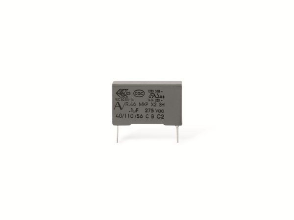 Funkentstörkondensator, KEMET R46, MKP, X2, 220 nF