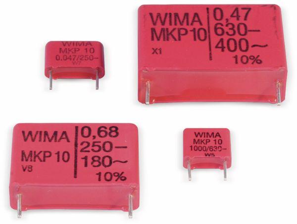 Folienkondensator, WIMA, MKP1J034706B00KSSD, 0,47UF, 630V