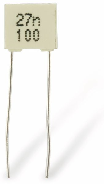 Folienkondensator KEMET R82, 27 nF