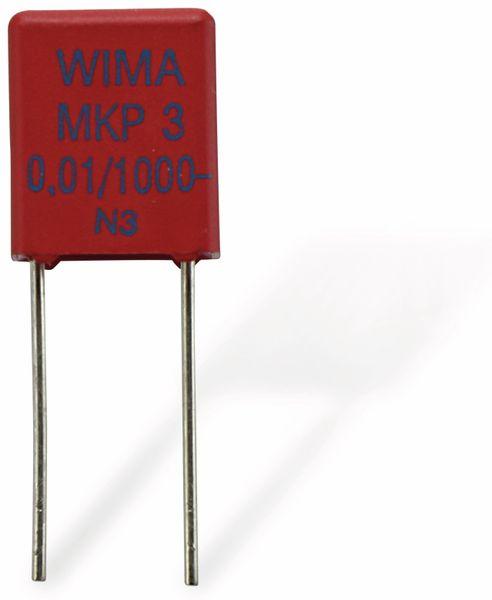 Folienkondensator WIMA MKP3, 10 nF, 1 kV- - Produktbild 1