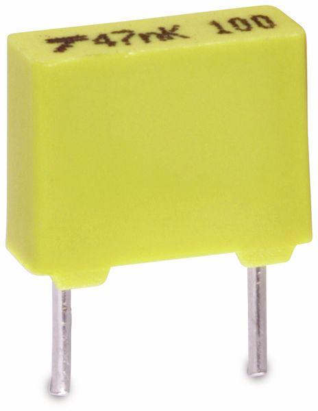 Folienkondensator, 470 pF, 100 V-