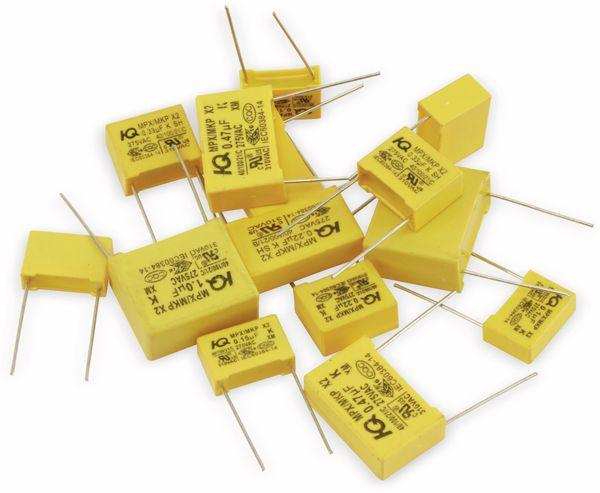 Sortiment, Entstörkondensatoren, X2, 14 Stück