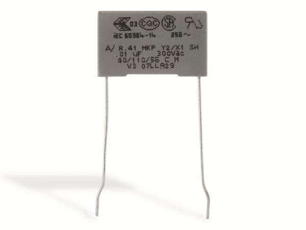 KEMET Funkentstörkondensator, R41, MKP, Y2, 300 V~, 1,0nF