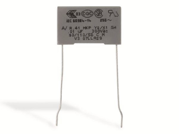 KEMET Funkentstörkondensator, R41, MKP, Y2, 300 V~, 10 nF