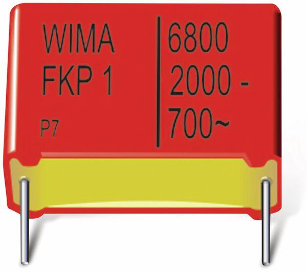 Folienkondensator, WIMA, FKP1R032207F00KSSD, 0,22UF, 1250V