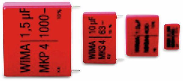 Folienkondensator, WIMA, MKS4D051006D00KSSD, 10UF, 100V
