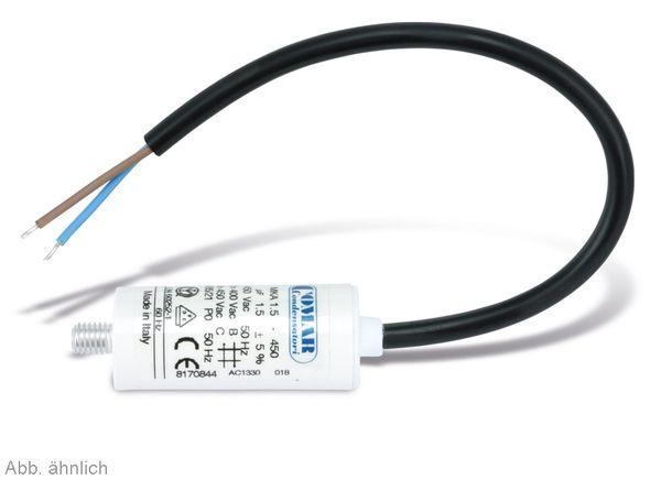 Motorkondensator, 18µF, 450V - Produktbild 2