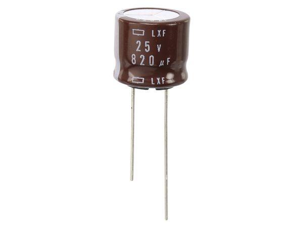 Elko, 820 µF/25 V