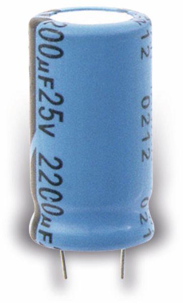 Elko, radial, 470 µF/35 V