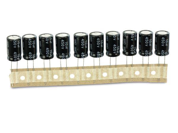 Elko YAGEO SH, 10 µF/450 V, 10 Stück - Produktbild 2