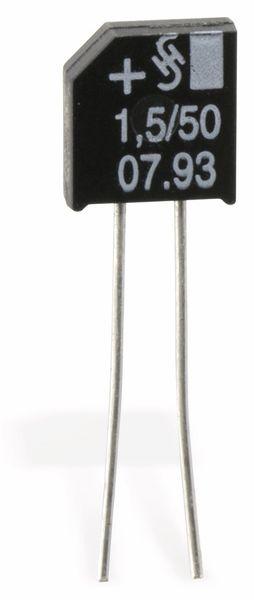 Tantal-Kondensator, radial