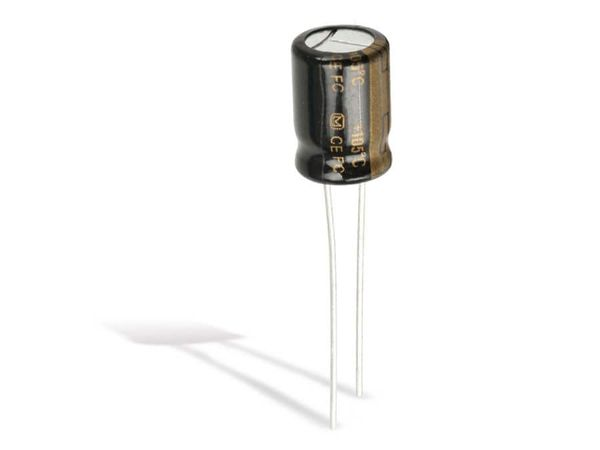 Elko, 560 µF/6,3 V-, 10 Stück