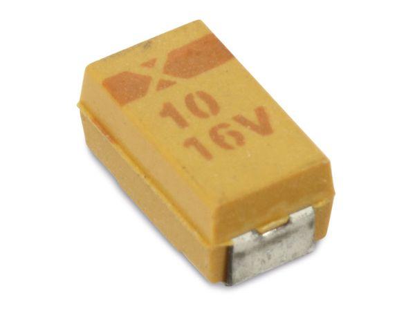 SMD Tantal-Kondensator, 10 Stück