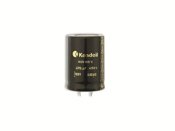 Elko KENDEIL K05, 470 μF, 450 V-