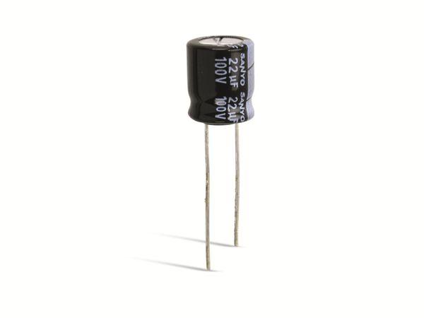 Elko, 22 µF, 100 V