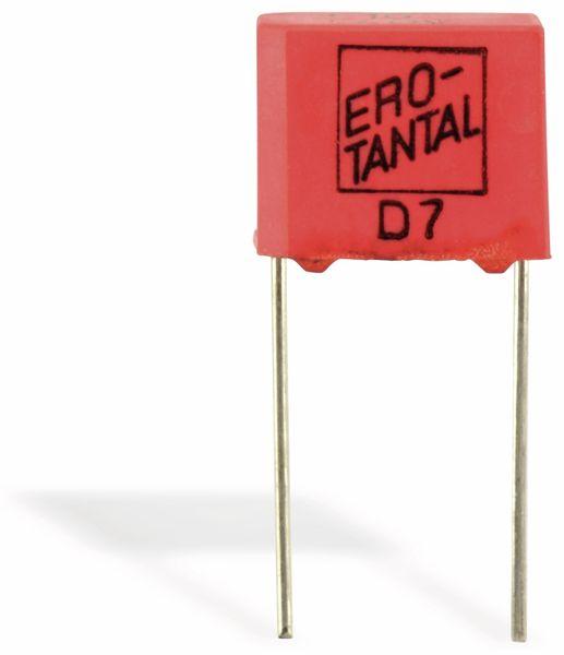Tantal-Kondensator, 10/40, radial
