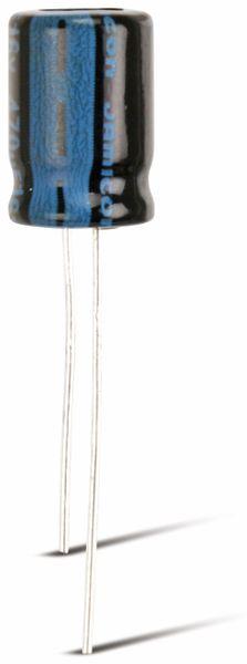 Elko, radial, 10µF, 250 V-