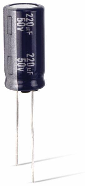Elektrolytkondensator, 470µF, 25V