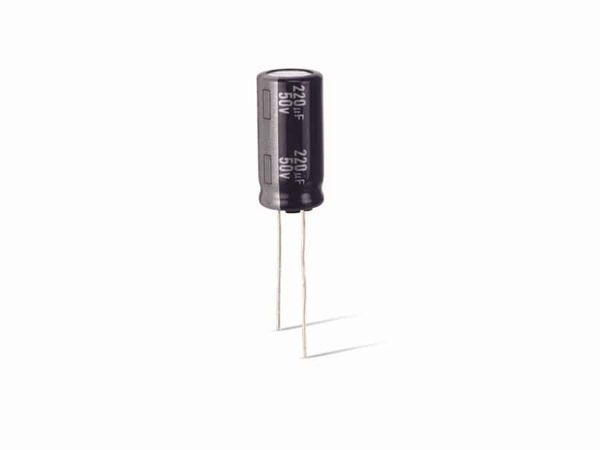 Elko, JAMICON, low E.S.R., 680 µF, 25 V, RM5, 105°, radial