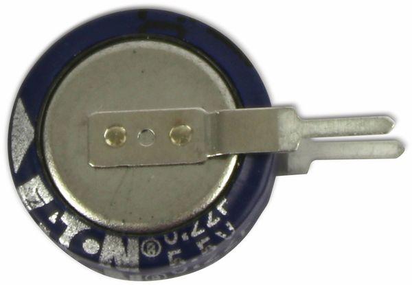 Gold Cap-Elko, Eaton, 0,22 F, 5,5 V, 11,5x12,7 mm - Produktbild 2