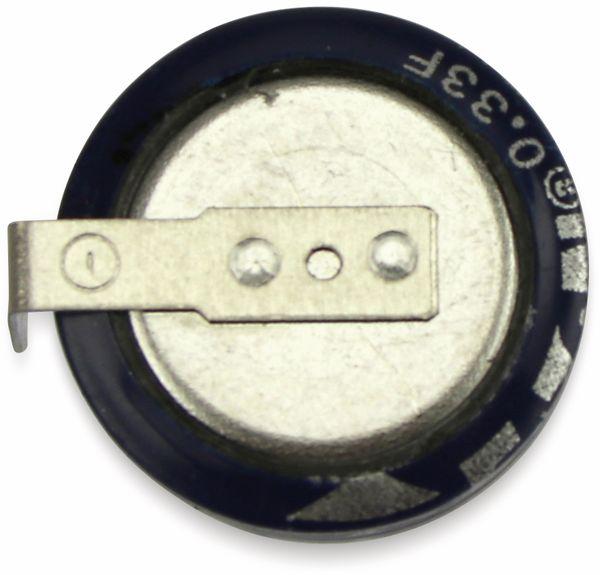 Gold Cap-Elko, Eaton, 0,33 F, 5,5 V, 11,5x5,2 mm - Produktbild 2