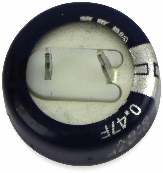 Gold Cap-Elko, Eaton, 0,47 F, 5,5 V, 13,5x6,5 mm