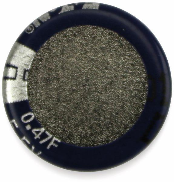 Gold Cap-Elko, Eaton, 0,47 F, 5,5 V, 13,5x6,5 mm - Produktbild 2