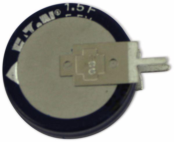 Gold Cap-Elko, Eaton, 1,5 F, 5,5 V, 19x19,7 mm