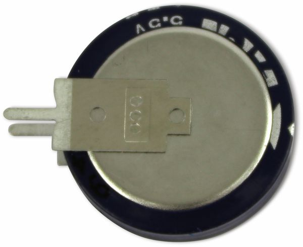 Gold Cap-Elko, Eaton, 1,5 F, 5,5 V, 19x19,7 mm - Produktbild 2