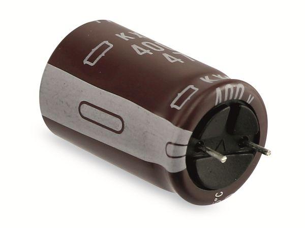 Elko, 47 µF/400 V, NIPPON CHEMI-CON KXG - Produktbild 3