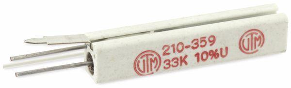 Hochlast-Drahtwiderstand VITROHM KV210-3, 33K, 7 W