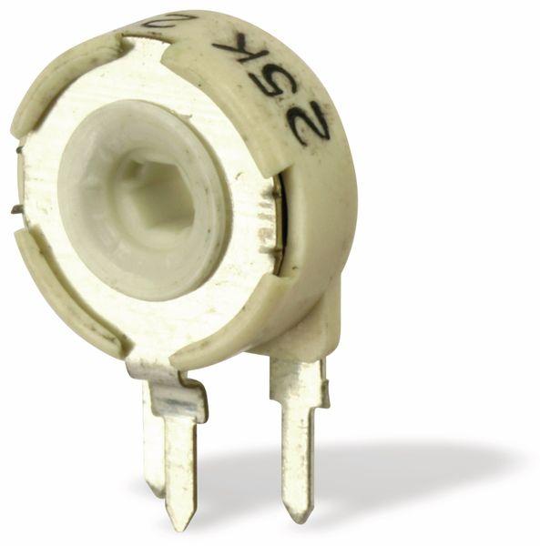 Potentiometer PIHER PTC10MH01, 10 mm, 25K, lin, 0,33 W - Produktbild 1