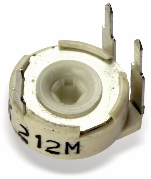 Potentiometer PIHER PTC10MV10, 10 mm, 5K, lin, 0,33 W - Produktbild 2