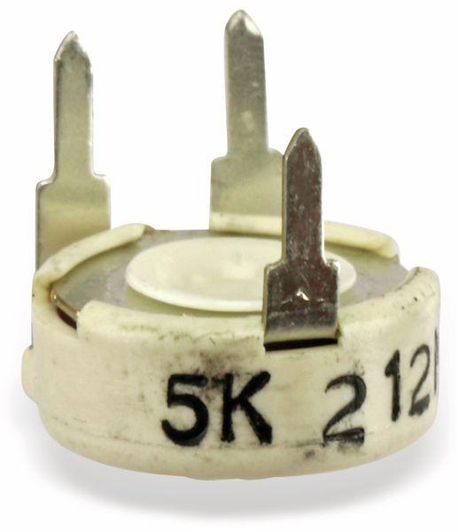 Potentiometer PIHER PTC10MV10, 10 mm, 5K, lin, 0,33 W - Produktbild 3