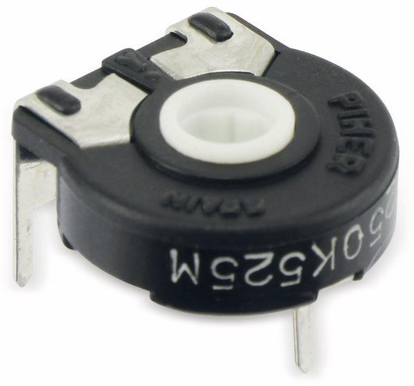Potentiometer PIHER PT-15NH05, 250 KΩ, liegend - Produktbild 1