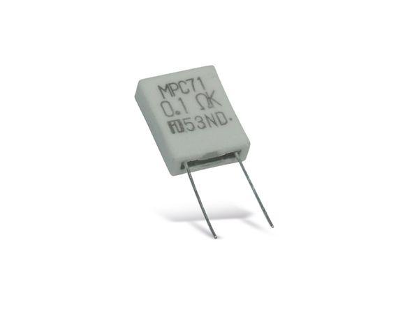 Metallband-Widerstand FUKUSHIMA FUTABA MPC71-0R22-10%