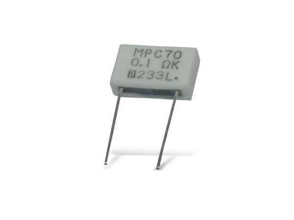 Metallband-Widerstand FUKUSHIMA FUTABA MPC76-0R05-10 %