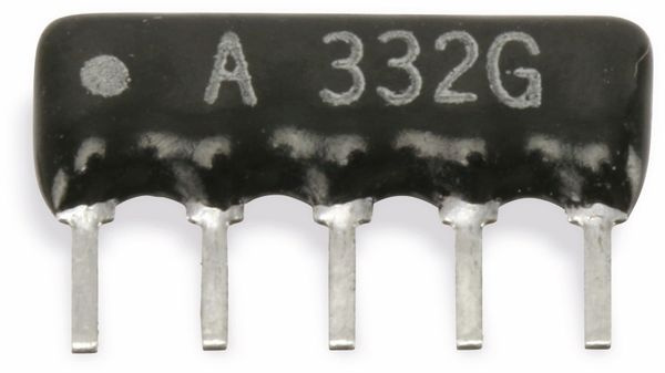 Widerstands-Netzwerk, 5P/4R, SIP, 47 kΩ , 2%