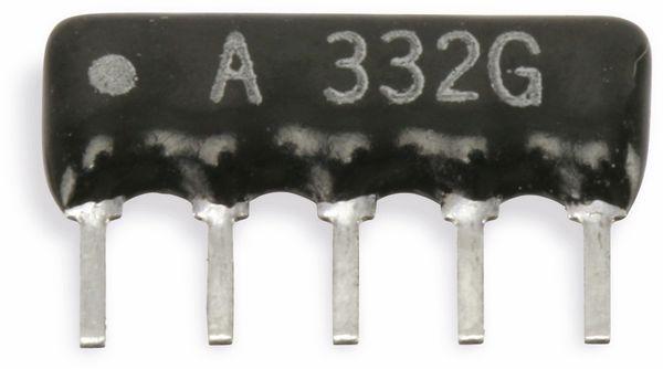 Widerstands-Netzwerk, 5P/4R, SIP, 100 kΩ , 2%