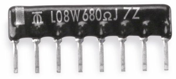 Widerstands-Netzwerk, 9P/8R, SIP, 100 kΩ , 2%
