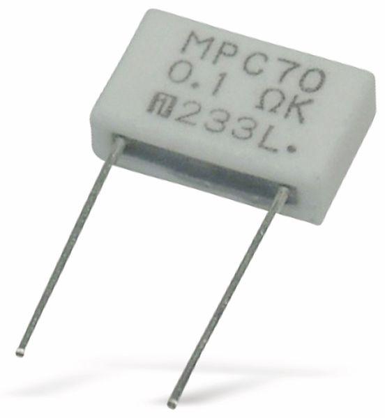 Metallband-Widerstand FUKUSHIMA FUTABA MPC70-0R27-10%